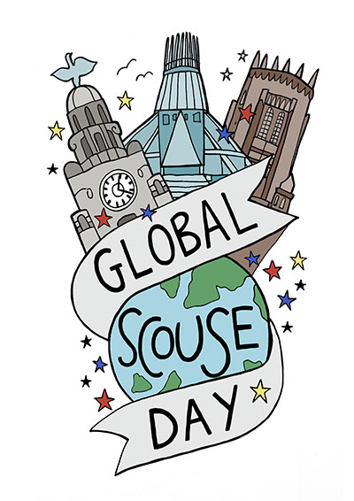 Global Scouse Day poster